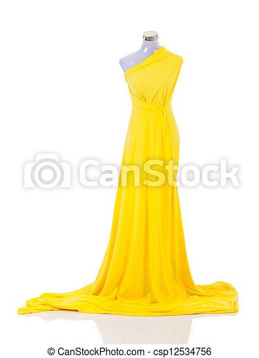 mód, ruha, manöken - csp12534756