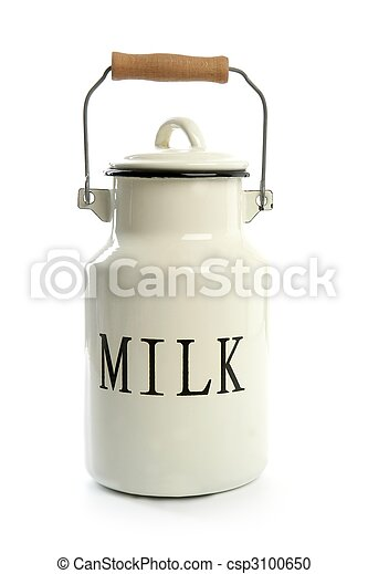 mód, urna, hagyományos, farmer, fehér, megfej, edény - csp3100650