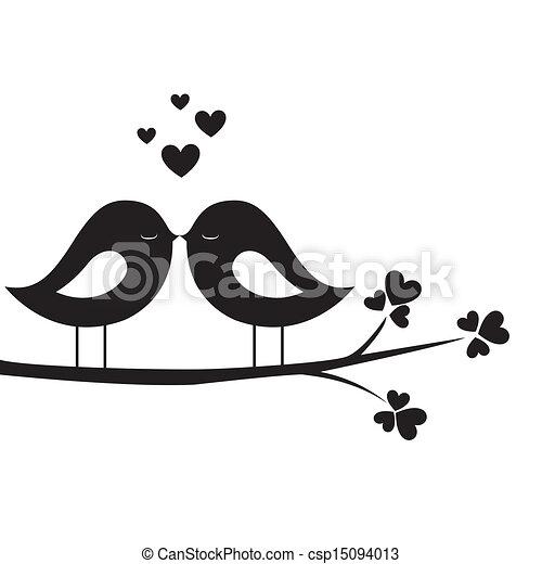 madár, csókol - csp15094013