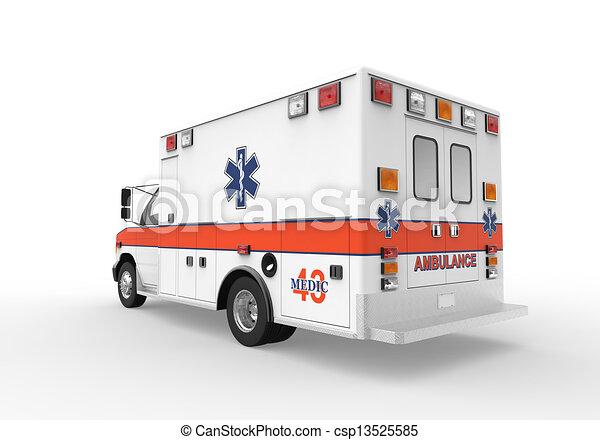 mentőautó - csp13525585