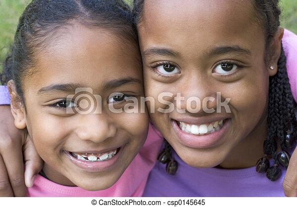 mosolygós, gyerekek - csp0145645