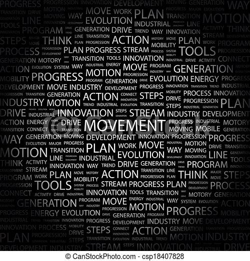 movement. - csp18407828