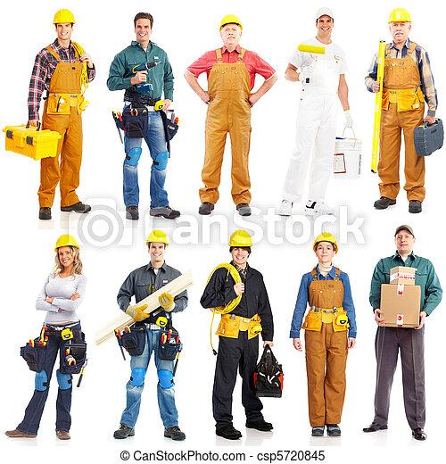 munkás, szállító, emberek - csp5720845