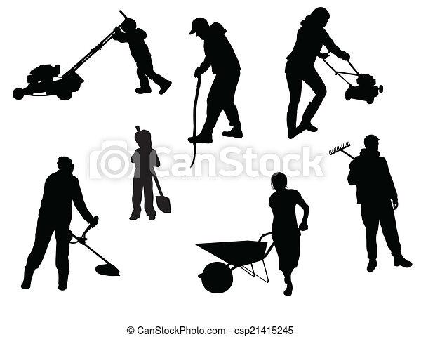 munka emberek - csp21415245