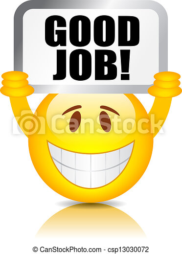 munka, jó, smiley - csp13030072