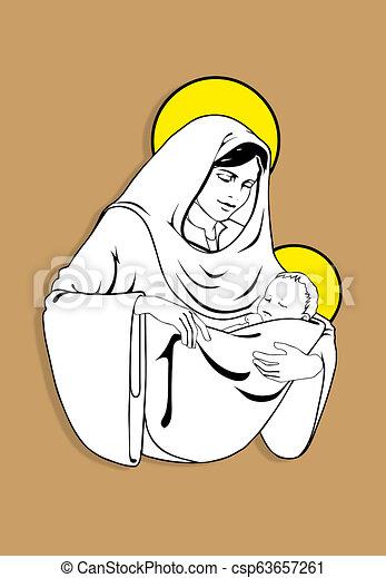 nő, gyermek - csp63657261