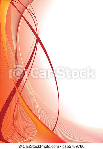 narancs háttér, elvont - csp5759760