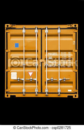 narancs, konténer - csp0281725