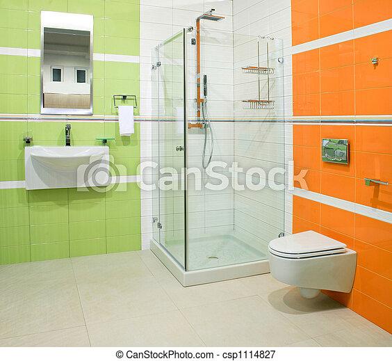 narancs, zöld - csp1114827
