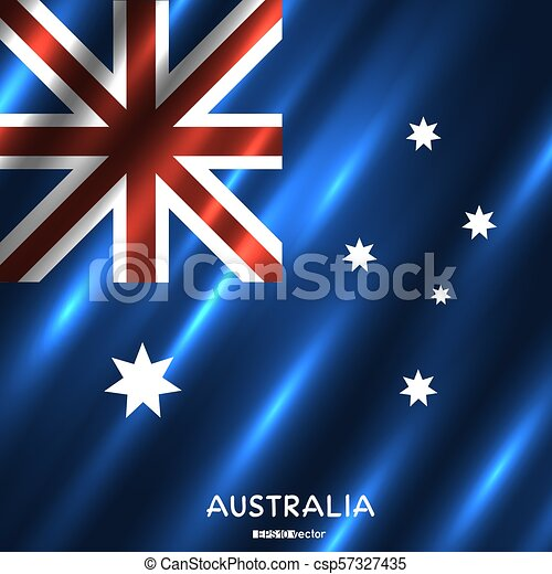 nemzeti, australia lobogó, háttér - csp57327435