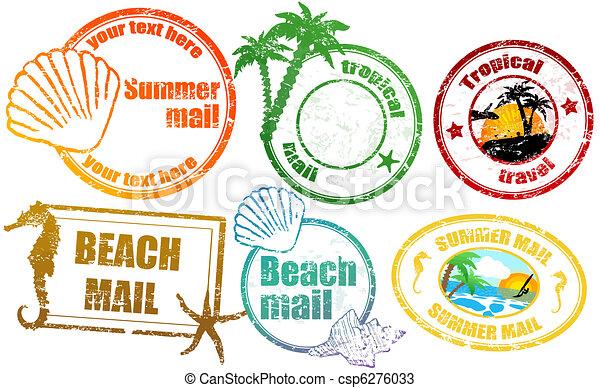 nyár, tropikus, topog - csp6276033