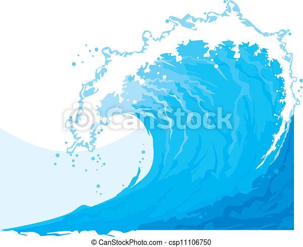 (ocean, wave), tenger, lenget - csp11106750