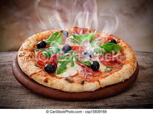 olasz, finom, pizza - csp15839169