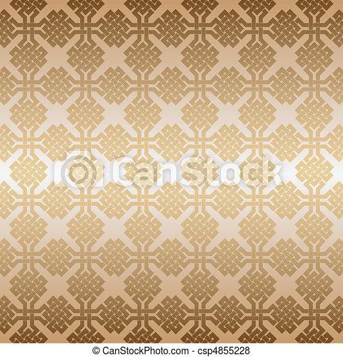 ornament., vektor, seamless, geometriai - csp4855228