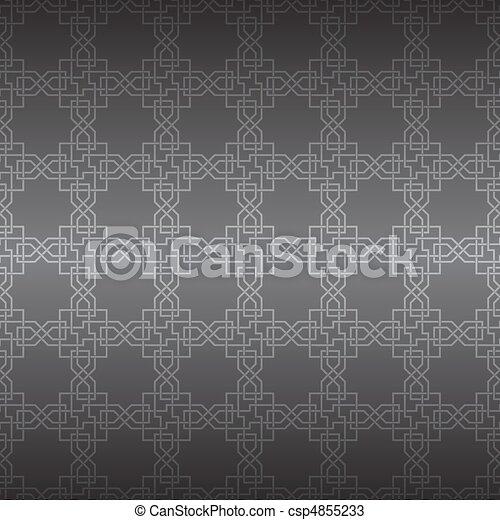 ornament., vektor, seamless, geometriai - csp4855233