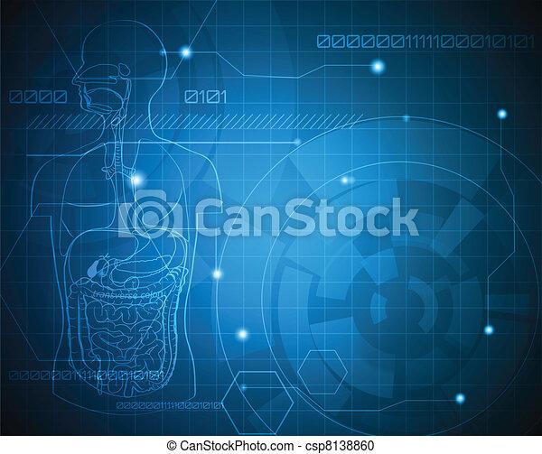 orvosi, háttér - csp8138860