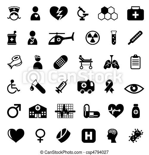 orvosi icons - csp4794027