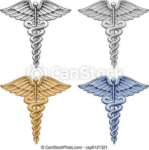 orvosi jelkép, pusztulásnak indult - csp6121321