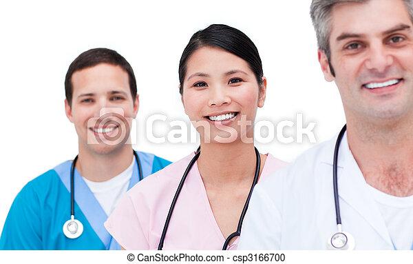orvosi, pozitív, sportcsapat portré - csp3166700