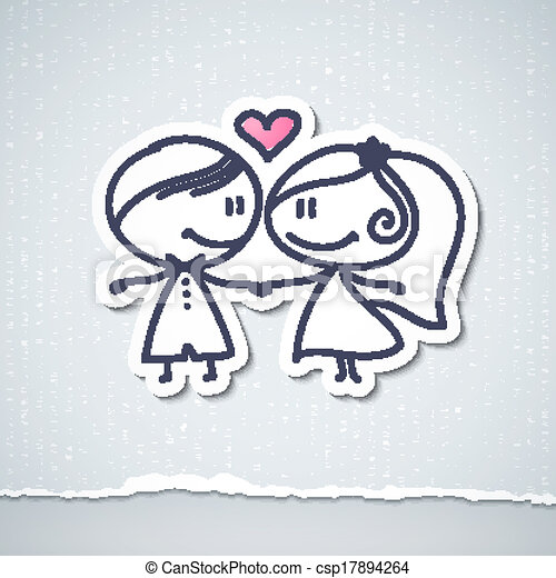 párosít, esküvő - csp17894264