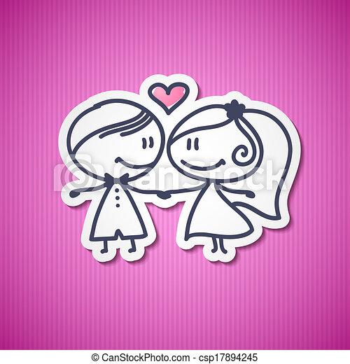 párosít, esküvő - csp17894245