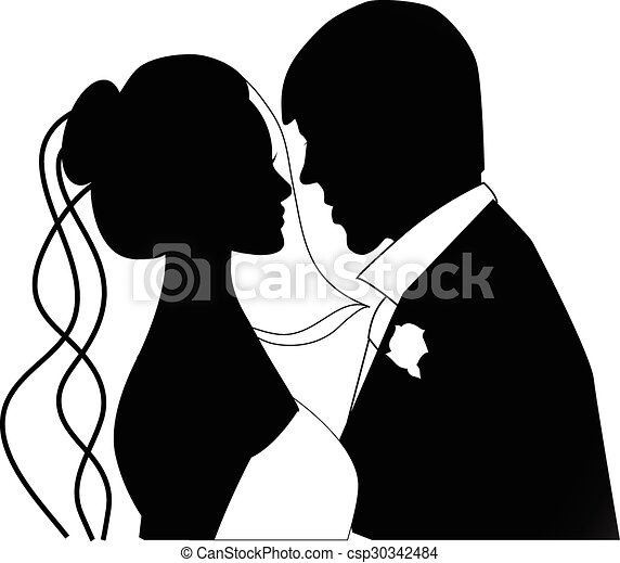 párosít, esküvő - csp30342484