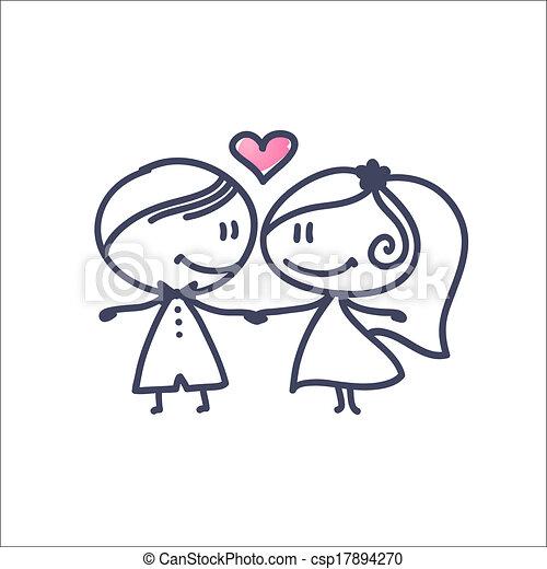 párosít, esküvő - csp17894270