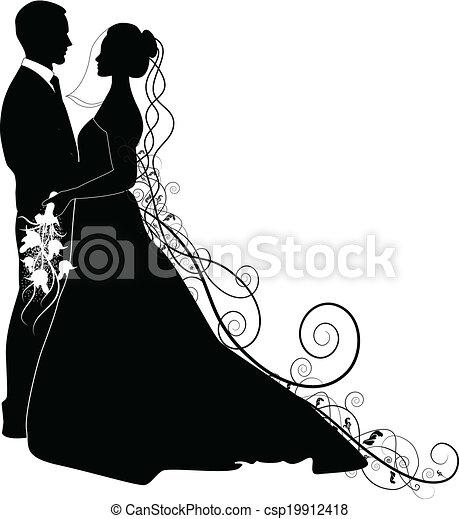 párosít, esküvő - csp19912418