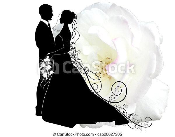 párosít, esküvő - csp20627305