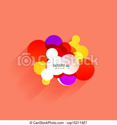panama, vektor, árnyék, színes - csp15211927