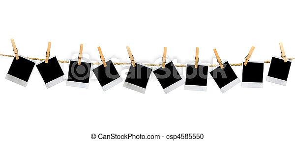 panoráma, árnyék, polaroid, nem - csp4585550