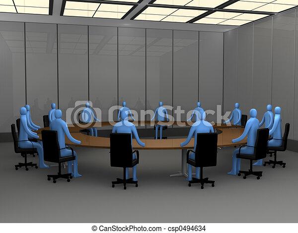 percek, -, ülésterem, hivatal - csp0494634