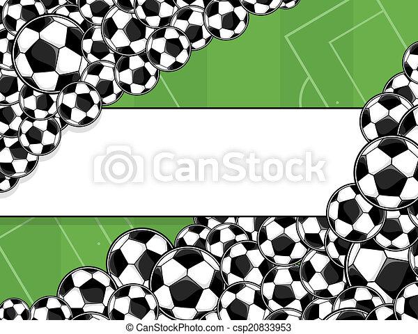 playingfield, futball, háttér - csp20833953