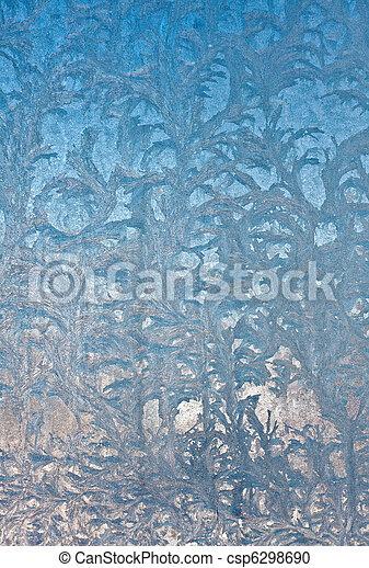 pohár ablak, menstruáció, jég - csp6298690