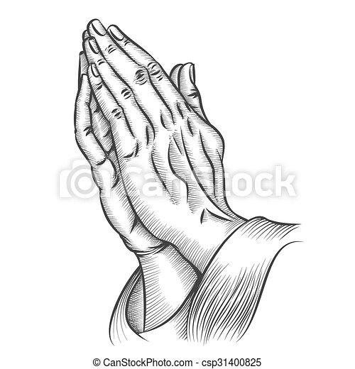 praying kezezés - csp31400825