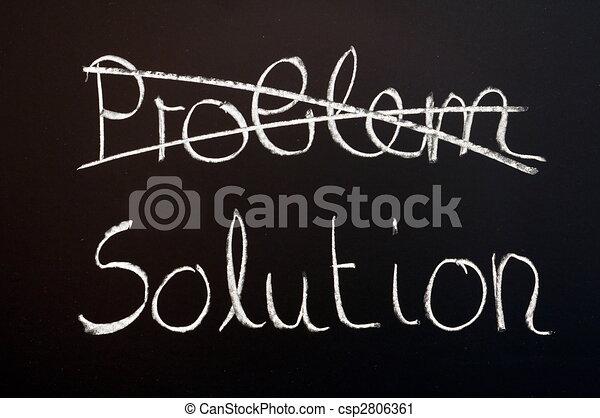 probléma, oldás, ügy - csp2806361