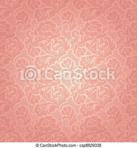 rózsaszínű, díszítő, menstruáció, befűz, háttér - csp8829338
