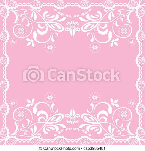 rózsaszínű, nőies, elvont, háttér - csp3985481