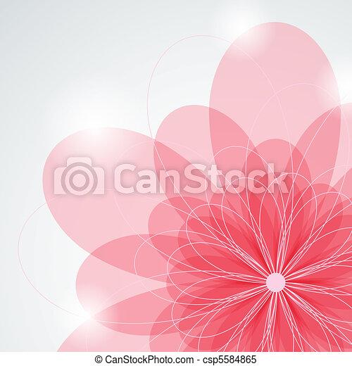 rózsaszínű virág - csp5584865