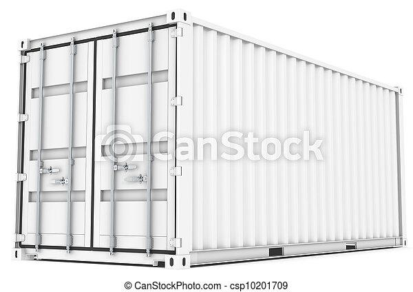rakomány, container. - csp10201709