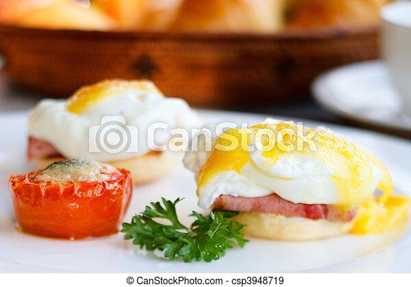 reggeli, finom - csp3948719