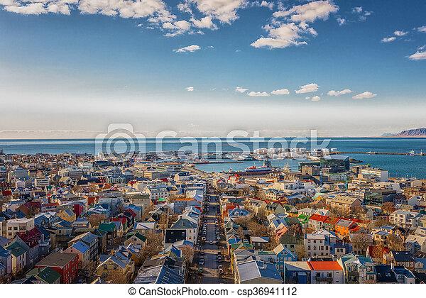 reykjavik, felül - csp36941112