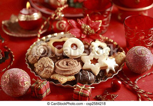süti, karácsony, finom - csp2584218