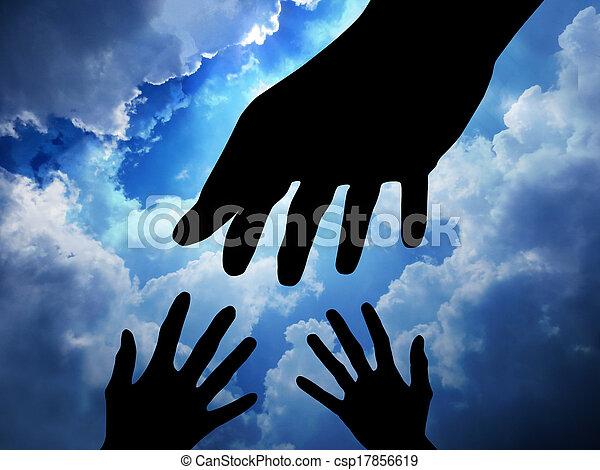 segítő kéz - csp17856619