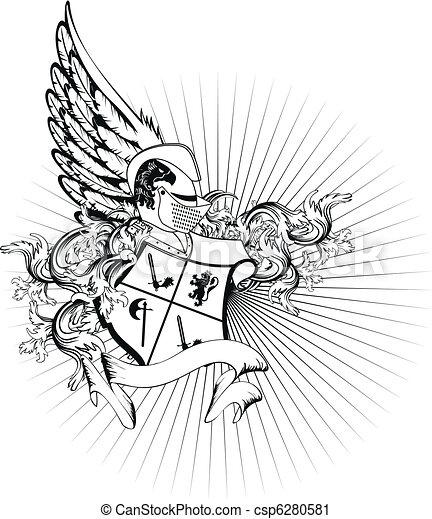 sisak, címertani, arms2, bőr - csp6280581