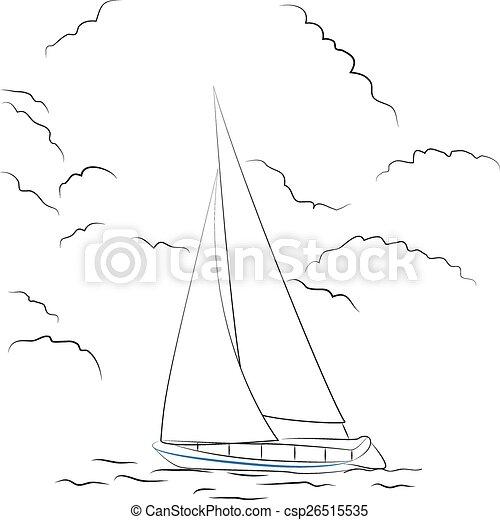 skicc, csónakázik - csp26515535