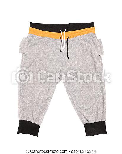 sport, öltözet, gyerekek - csp16315344