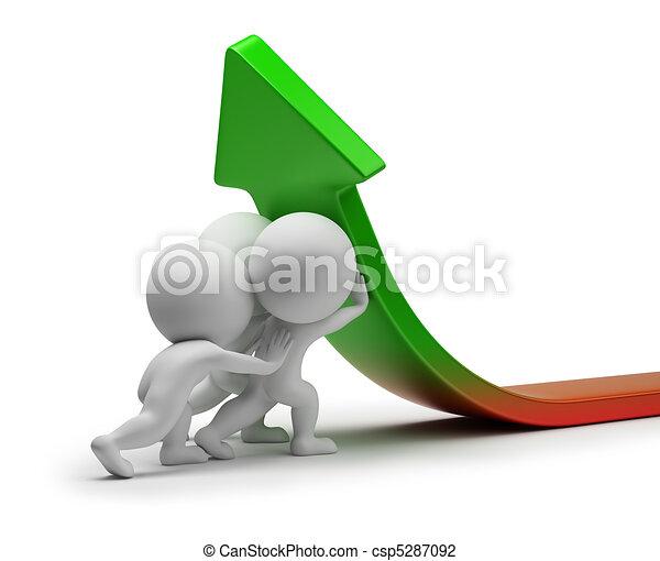 statisztika, emberek, -, javítás, kicsi, 3 - csp5287092