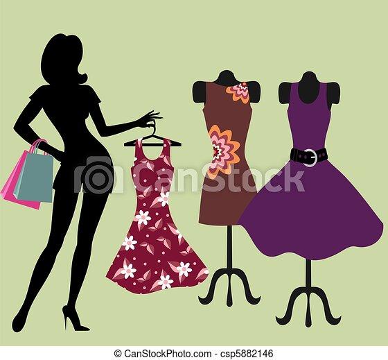 store., leány, öltözet - csp5882146