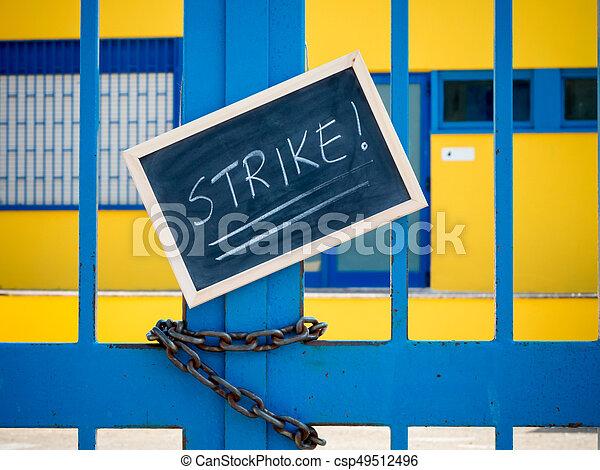 strike! - csp49512496